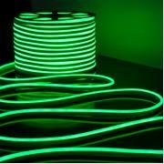 Гибкий неон зелёный, 50 метров